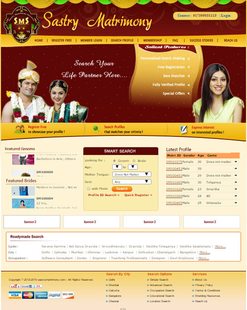 Matrimonial Website Development company in mundka