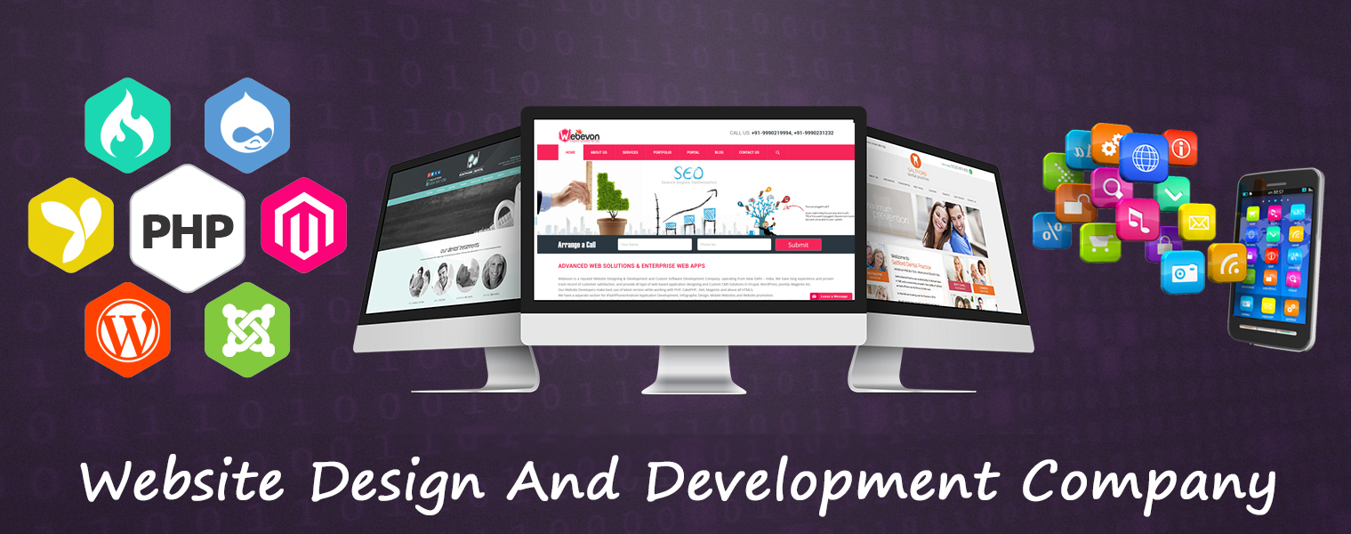 Website Designing & Development Solutions in  Dwarka sector-23